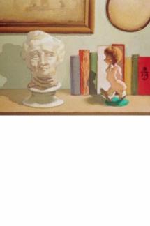 Bodegón con escultura