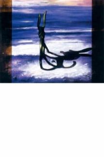 Escultura en la orilla