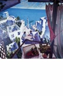 Artistas en una terraza o conversaciones sobre un nuevo arte mediterráneo